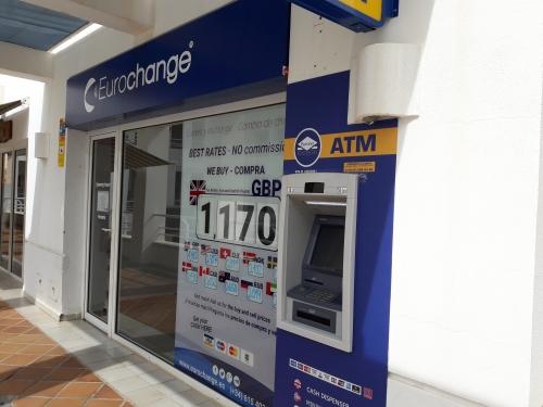 Eurochange oficina de cambio de divisa